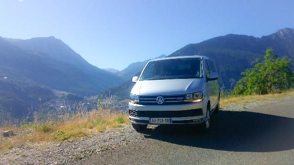 Vw Caravelle T6 4x4 bo&icirc;te automatique<br /> 9 places, compris le chauffeur.